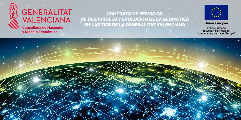 Adjudicación a DISID del servicio de desarrollo y evolución de la geomática en las TICS (GEO-TICS) por la Generalitat Valenciana